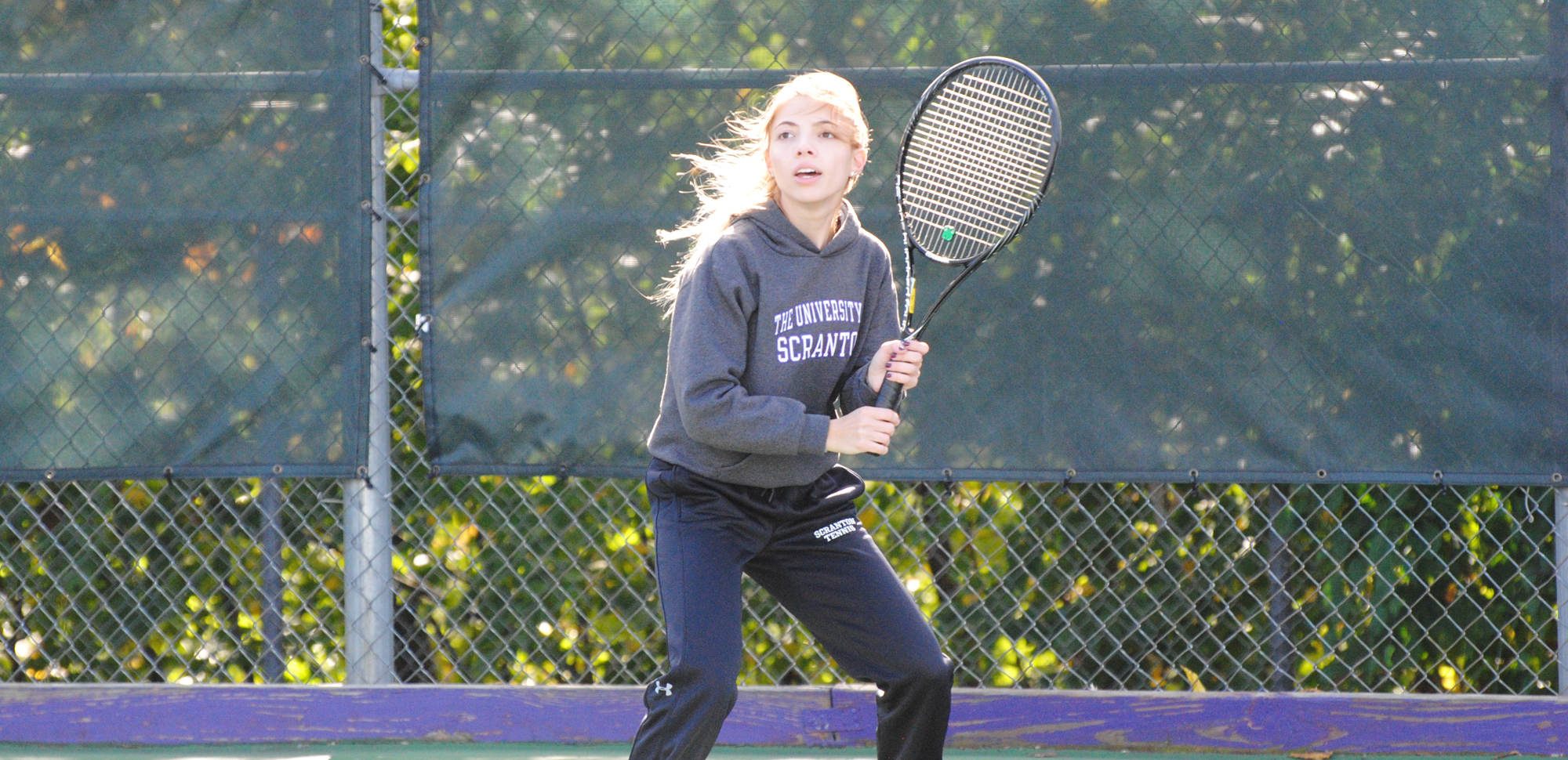 Women's Tennis Falls to Mount Holyoke, 8-1, in Florida