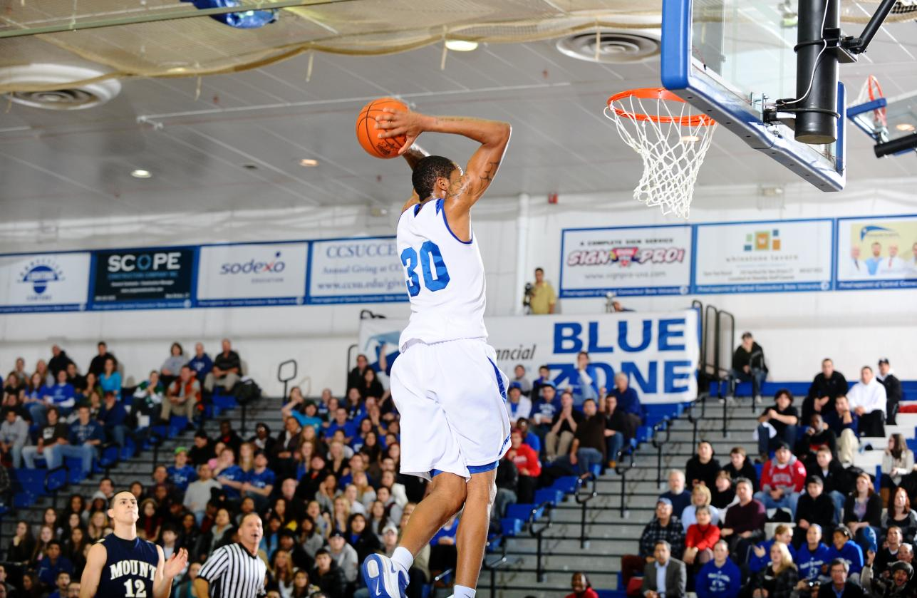 Horton Leads Blue Devils to Home Victory Over Mount St. Mary's on Thursday