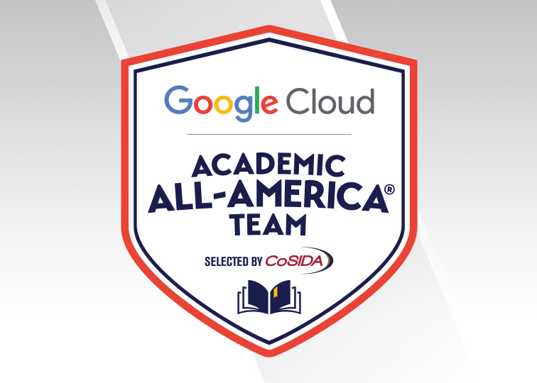 CoSIDA's Google Cloud Academic All-America Student-Athletes