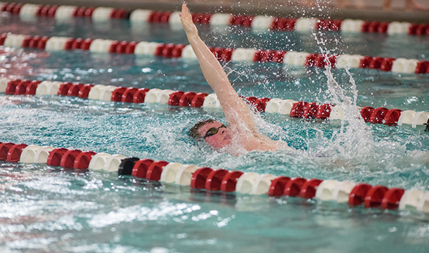 Three From Men's Swimming & Diving Named Academic All-Conference