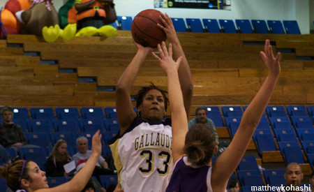 Emerson Defeats Gallaudet 73-55 to Win Gallaudet Holiday Tournament