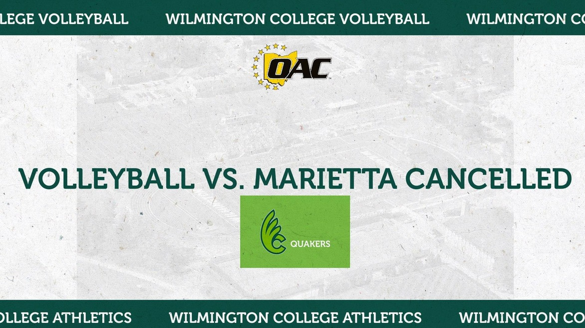 Volleyball Twinbill With Marietta Cancelled