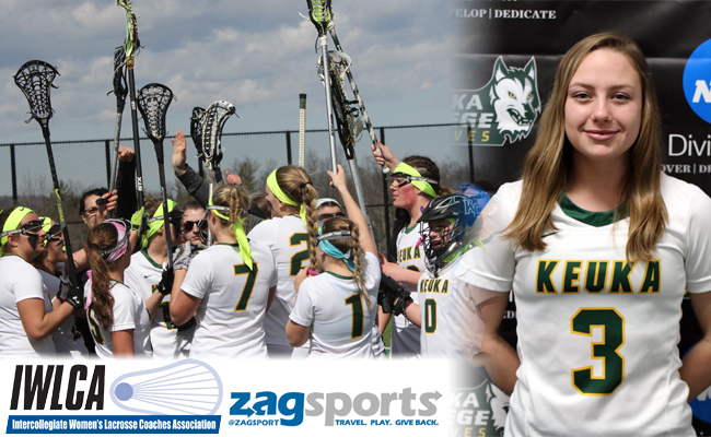IWLCA Honors Keuka College and Ashley Appell