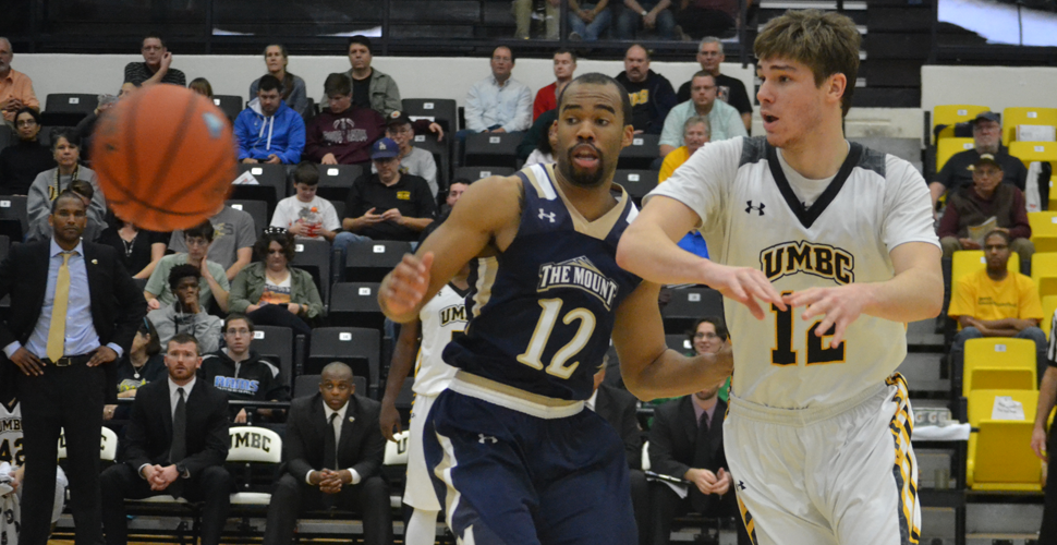 Darley's Big Effort Leads Men's Basketball to 75-63 Triumph Over Mount