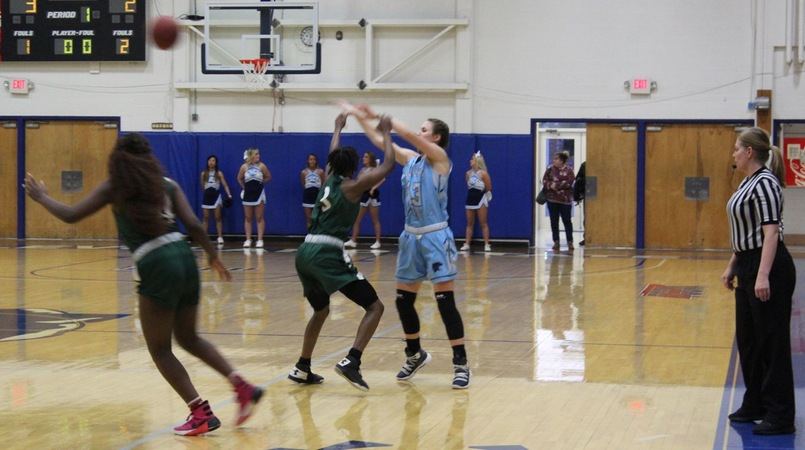 Lady Cougars Cruise Past Massasoit Community College