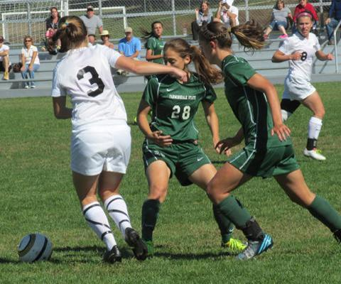 Rams Top Sage in Skyline Women's Soccer Action