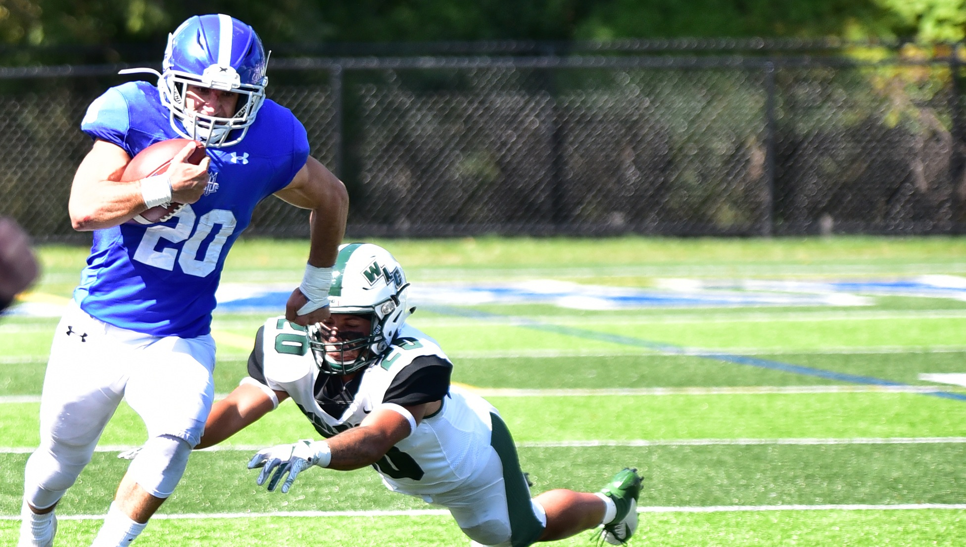 Lawrence Tech Dominates Wisconsin Lutheran 34-14 with Record Setting Offensive Performance