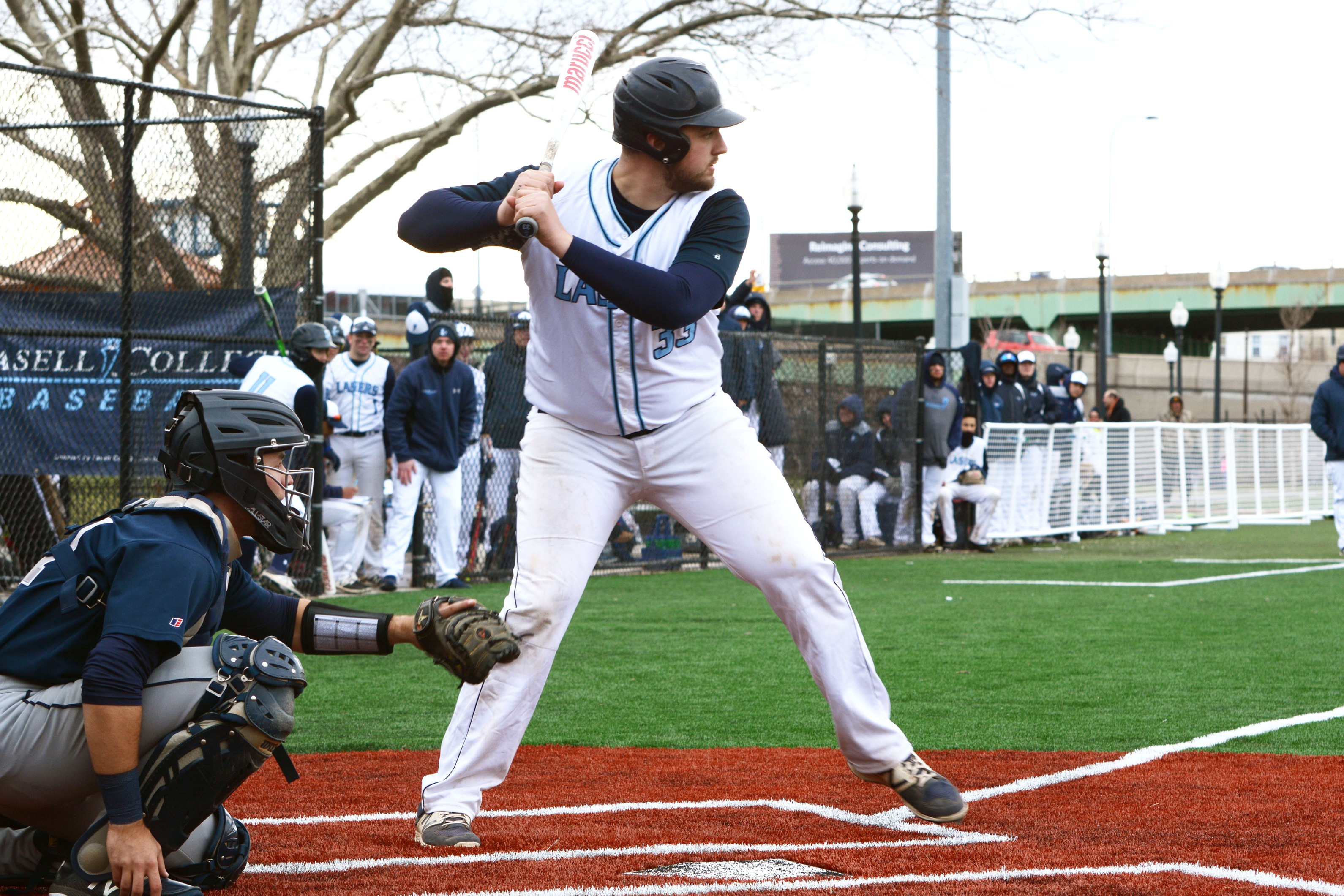 Lasell Baseball drops one-run contest at Eastern Nazarene