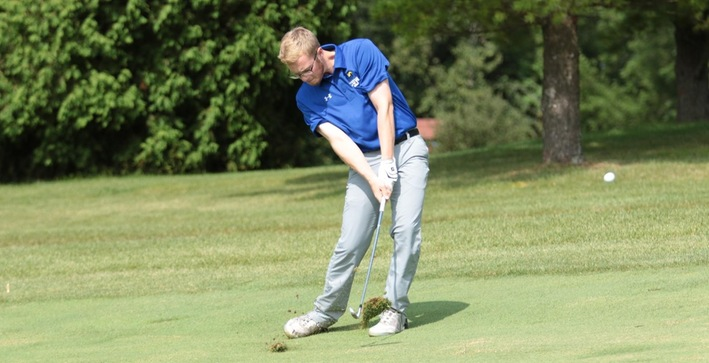 Carden shoots 76, Men's Golf competes at Elmhurst Fall Invitational