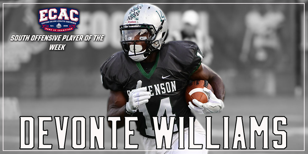 Devonte Williams Grabs ECAC Honors