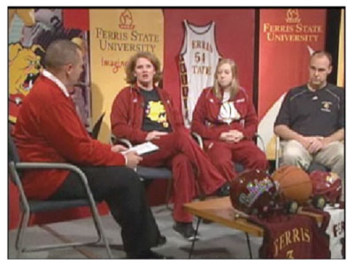 Fans can watch live on-demand streaming of the Ferris Sports Update TV show