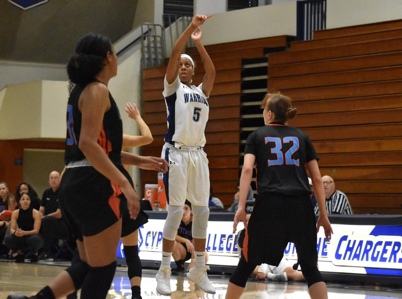Women's Basketball Pulls off Comeback Against Palomar