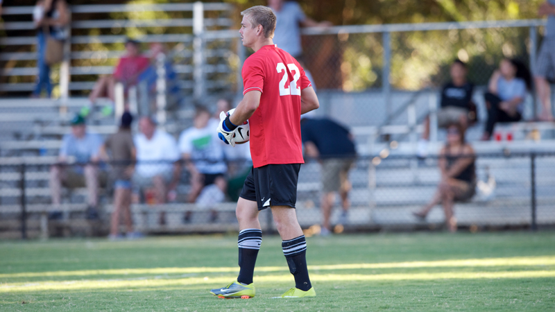 MEN'S SOCCER PLAYS NO. 18 RANKED SAINT MARY'S TO SCORELESS DRAW