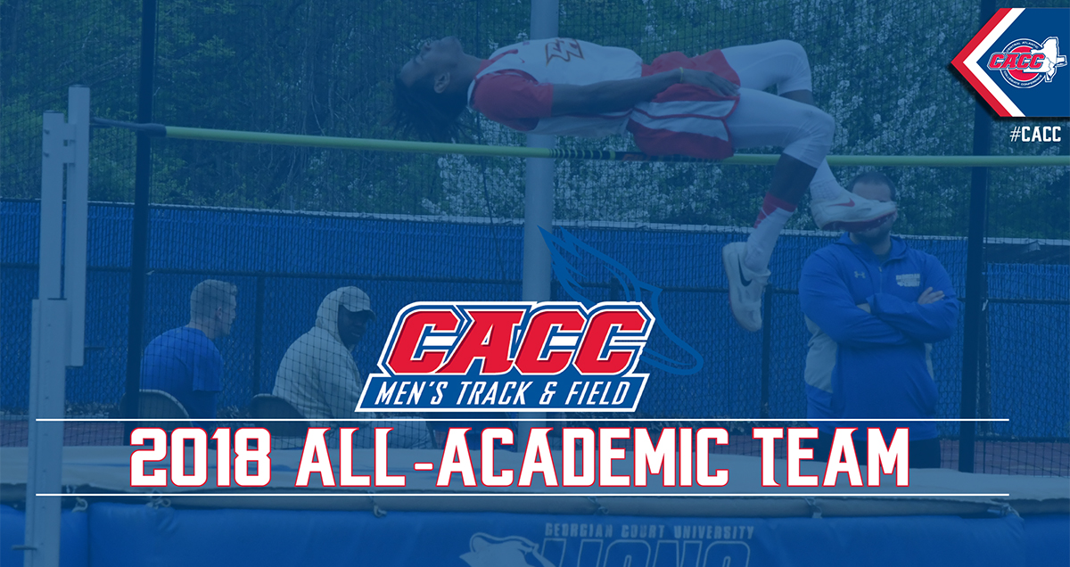 Twenty-Two Student-Athletes Earn a Spot on 2018 CACC Men's Track & Field All-Academic Team