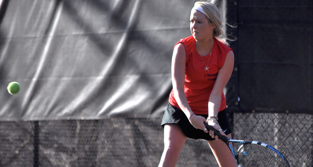 LC Women's Tennis Drops Tough Match to Shenandoah 5-4