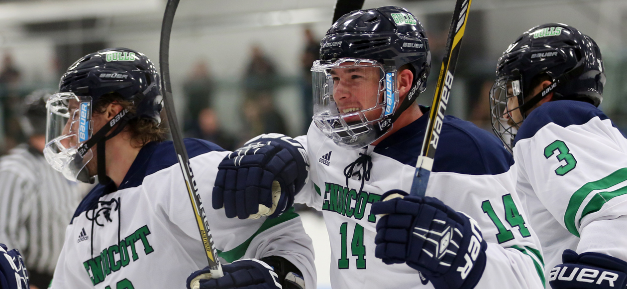 Men's Ice Hockey Earns No. 1 Seed In ECAC Northeast Tournament