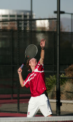 Men's Tennis Falls to Third Straight Ranked Opponent