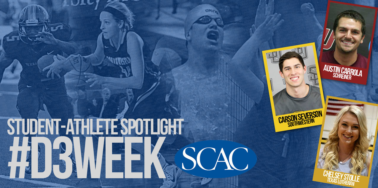 SCAC Celebrates NCAA Division III Week - Day Two