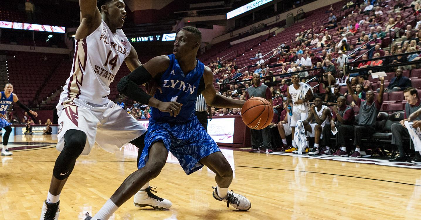 Seminoles Too Much for Men's Basketball