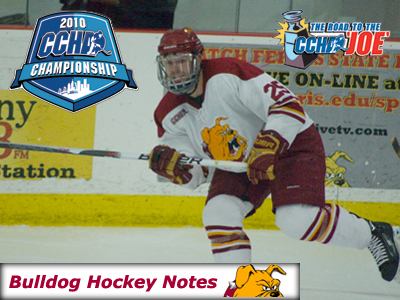 Weekly Game Notes - 2010 CCHA Championships