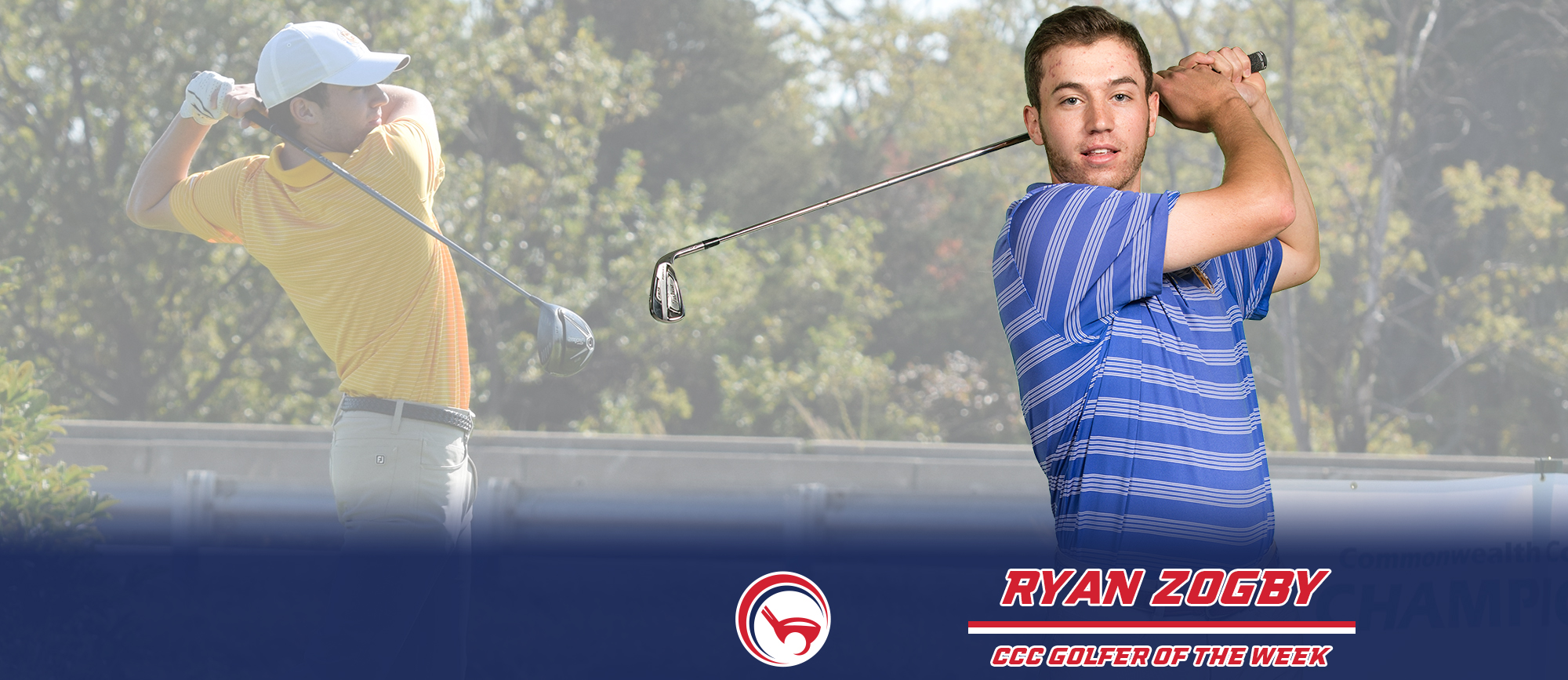 Ryan Zogby Earns Third CCC Golfer of the Week Award