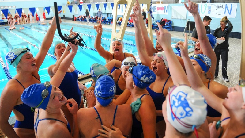 Swimming and Diving Among the Nation's Best