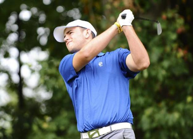 Men's Golf 10th After Day One at Turning Stone