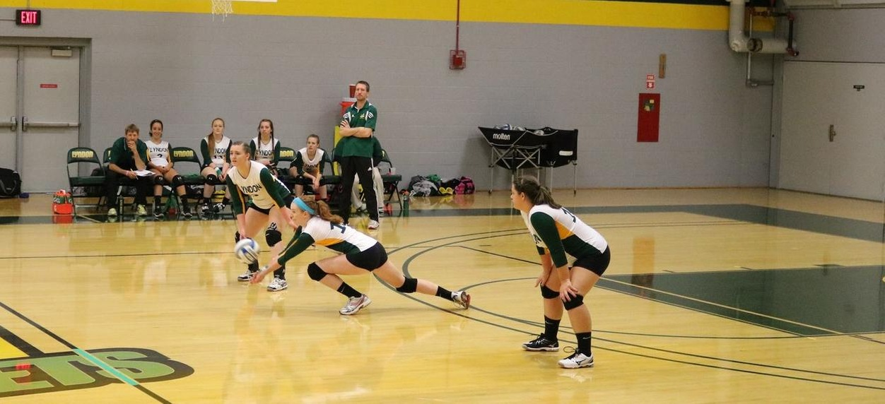 Hornets swept by Fitchburg State and New England College in season opening tri-match