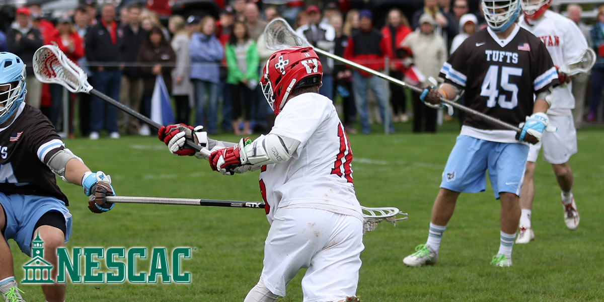Stanton Named NESCAC Men's Lacrosse Co-Player of the Week