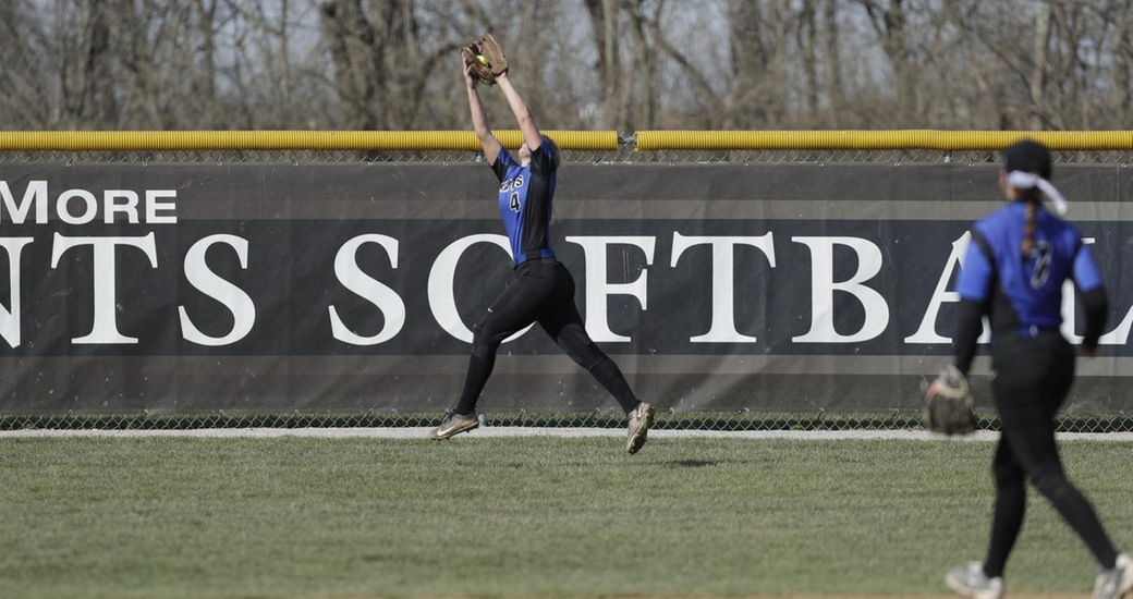 Softball Sweeps Denison in Monday Night Double Header