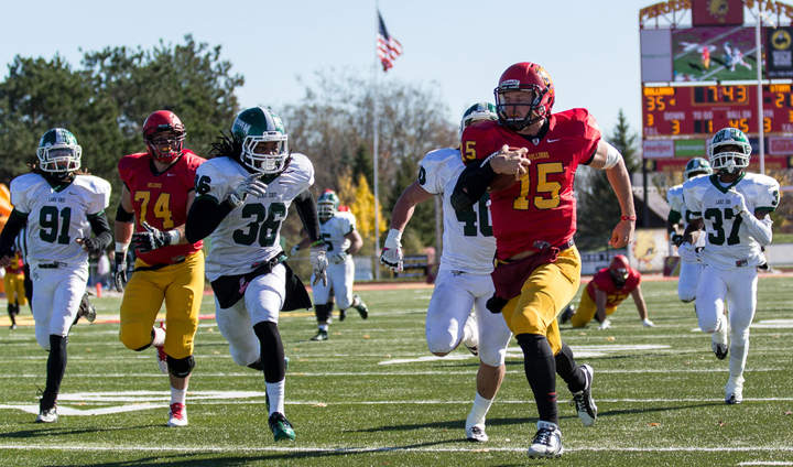 Ferris State Wins High-Scoring Home Tilt Against Lake Erie To Keep Perfect Season Intact