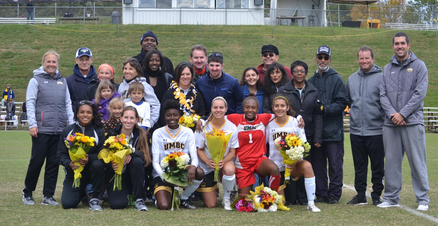 UMBC Women's Soccer Defeats New Hampshire, 2-0, on Senior Day