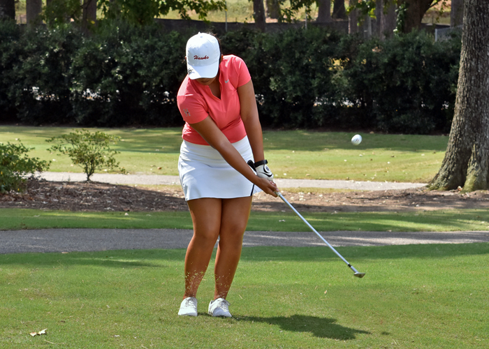 Lady Hawks in 4th after Rd. 1 of MCC Women's Intercollegiate