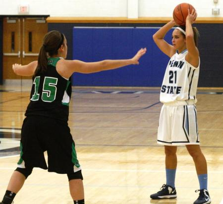 Lady Lions down Wilkes-Barre