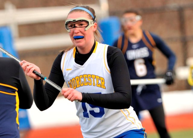 Women's Lacrosse Wins Fifth Straight With 15-4 Triumph Over Colby-Sawyer