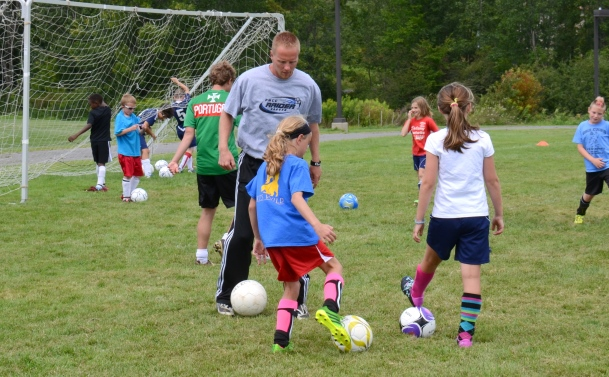FM Youth Soccer Camp Kicks Off