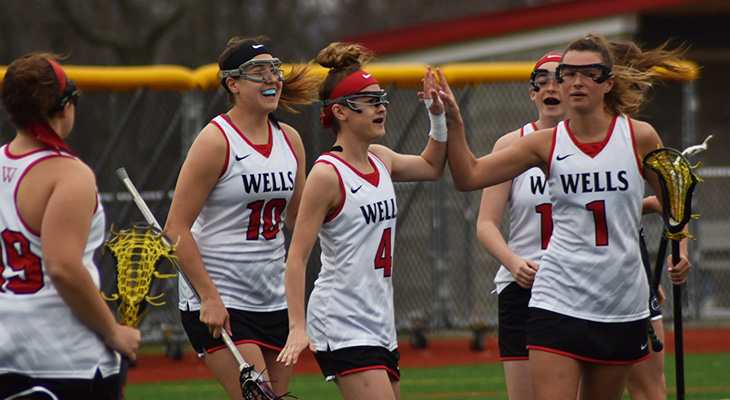 Fourth Win In A Row For Women's Lacrosse