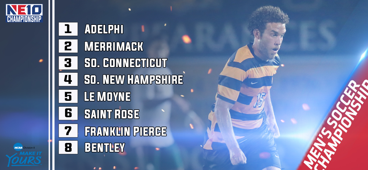 Embrace The Championship: Adelphi Earns Top Seed for Upcoming NE10 Men's Soccer Championship