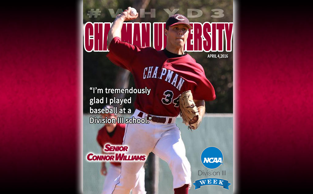 #D3week featured student-athlete: Connor Williams, baseball