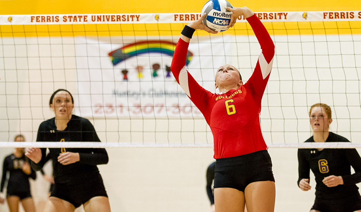 #18 Ferris State Opens Home Invitational With Convincing Sweep Over California (Pa.)