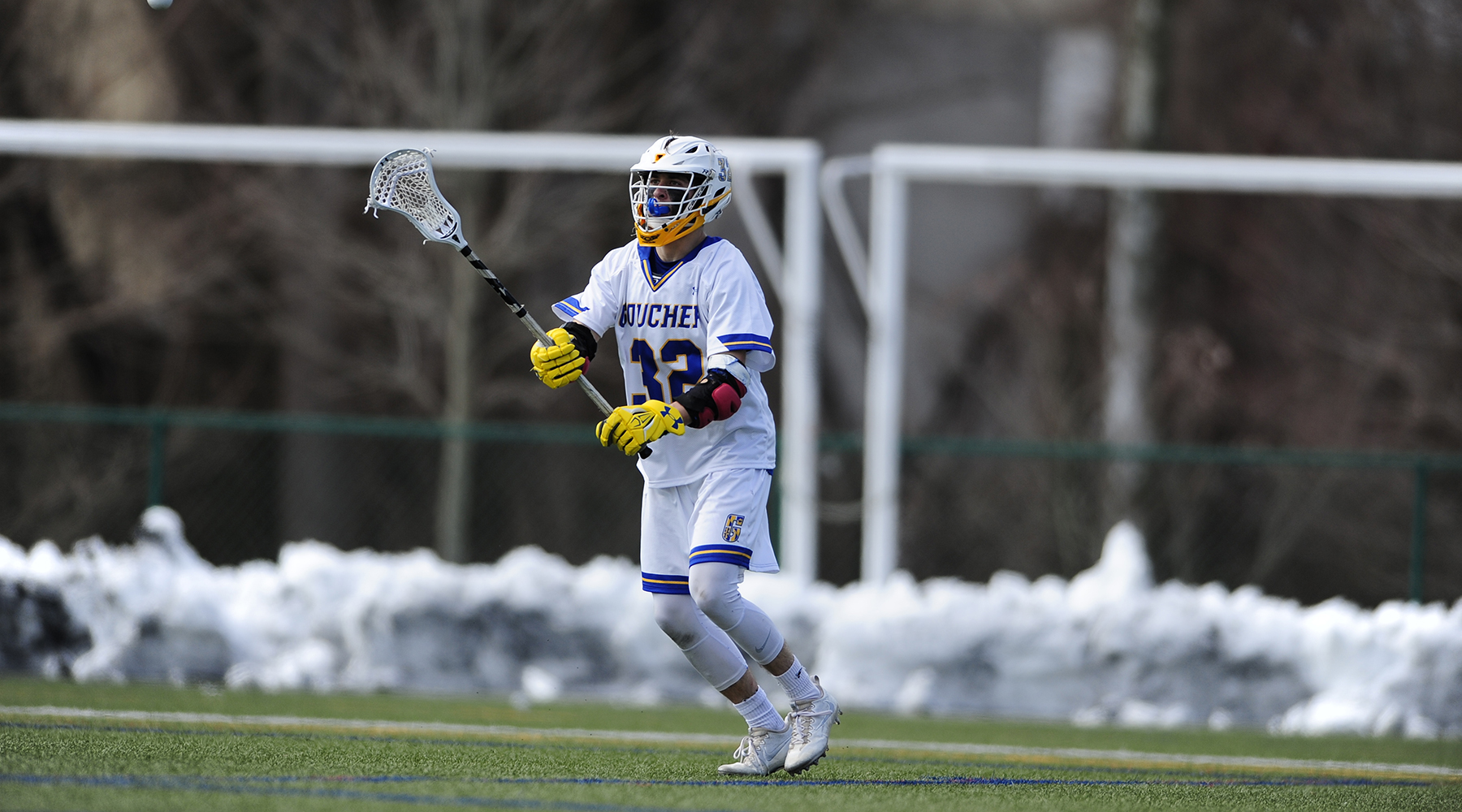 Men's Lacrosse's Woodson Nabs Landmark Conference Offensive Athlete of the Week Honors