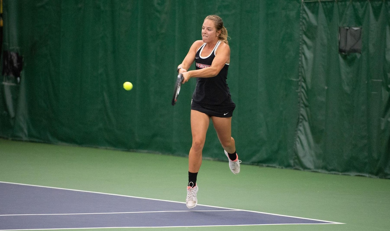 Freshmen Make Team Debuts for Women's Tennis in Fredonia Loss