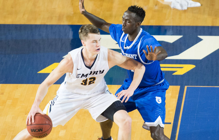 Emory Men's Basketball Defeated By No. 5 Wash U