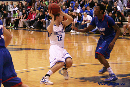 Men's Basketball grinds out overtime victory