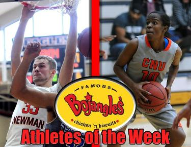 Williams, McLaughlin repeat as Bojangles Athletes of the Week