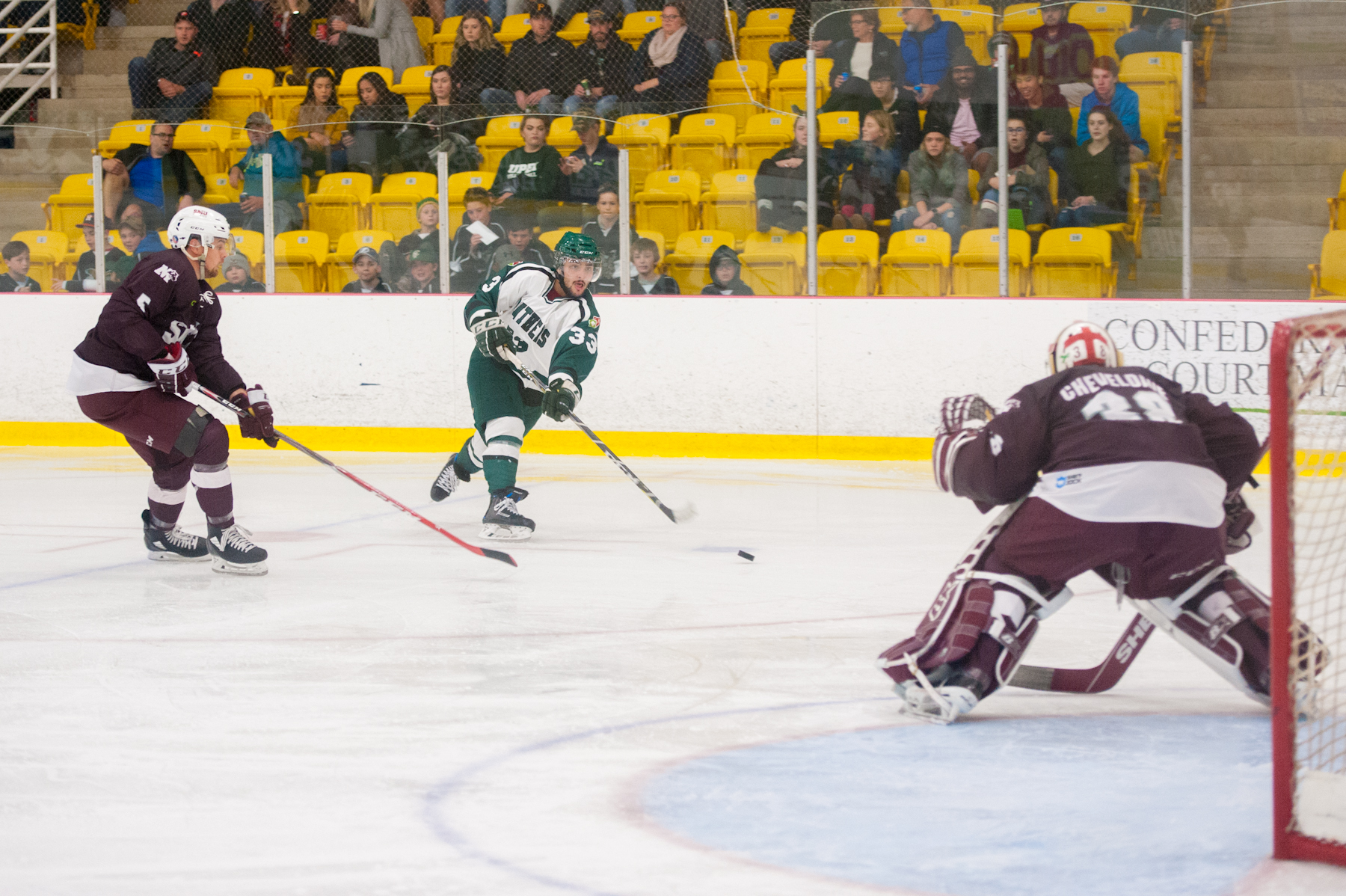 Repaci scores OT winner as Huskies claw back against UPEI