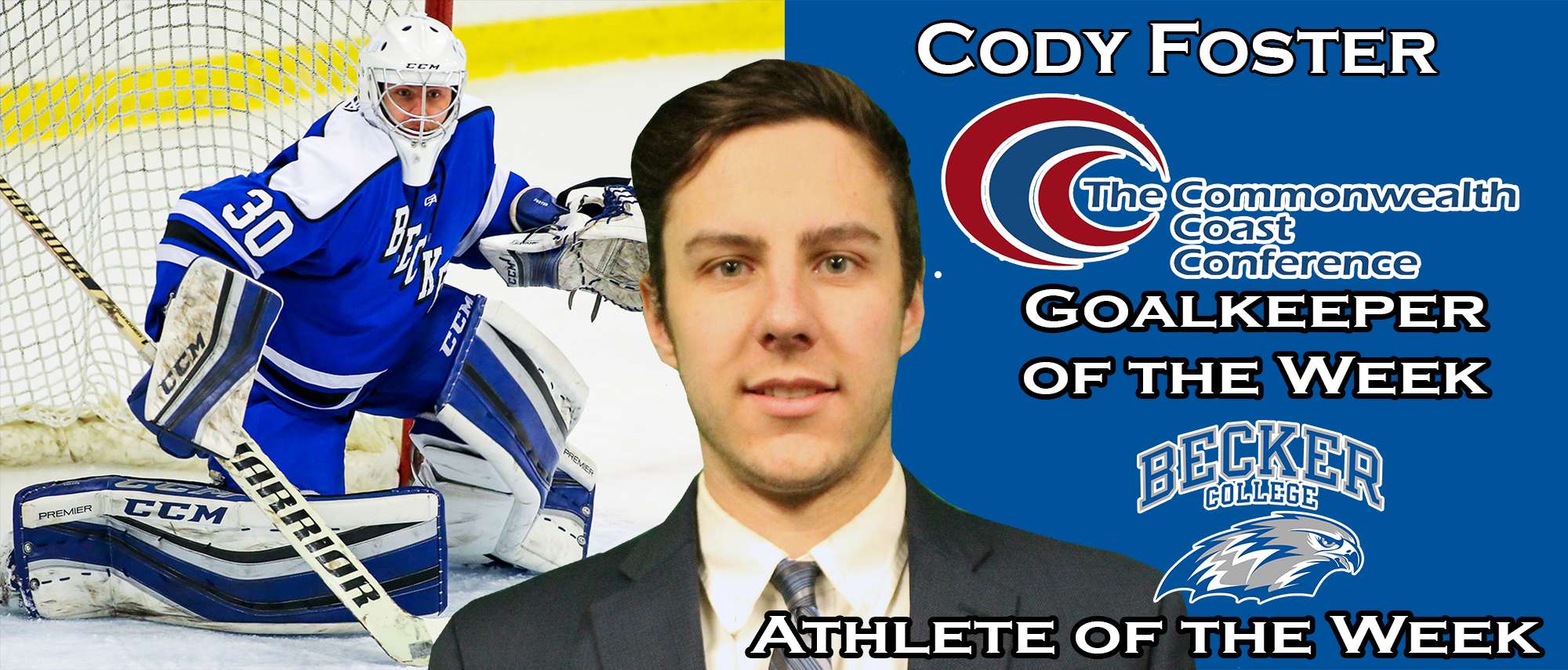 Cody Foster - CCC Goalkeeper of the Week
