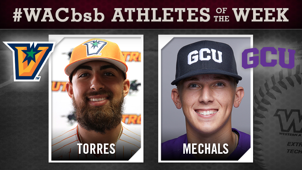 WAC Baseball Hitter and Pitcher of the Week Announced