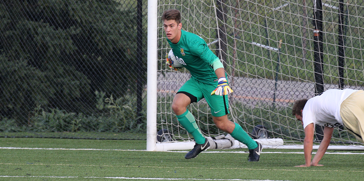 Colorado College junior goalkeeper led CC to a pair of shutout victories last weekend against Austin College and Dallas.