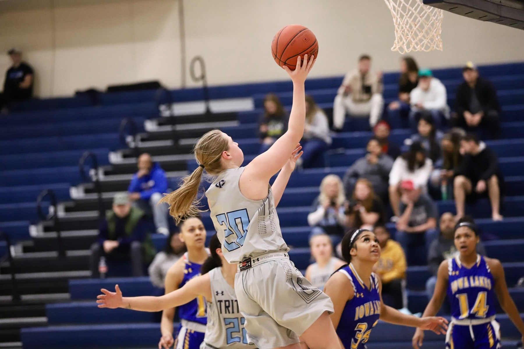 Engbrecht leads Tritons on the road